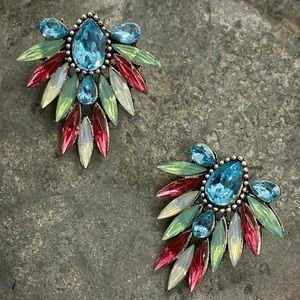 NEW Fancy Road Trip Rhinestone Earrings